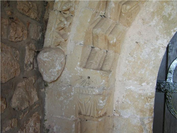 Rhossili Church Norman Door