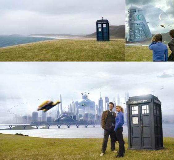 Dr Who Enjoying Wormshead