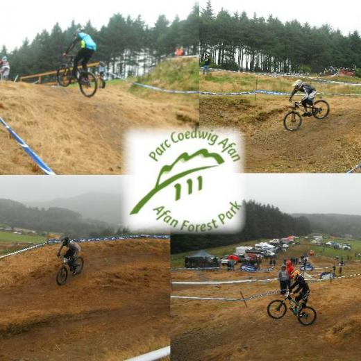 Afan Forest Neath / Port Talbot bike wales