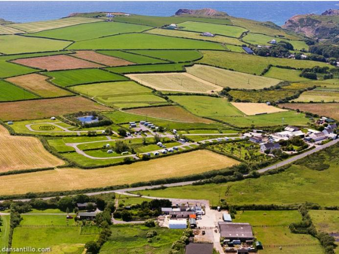 Pitton Cross Caravan Park Rhossili Gower