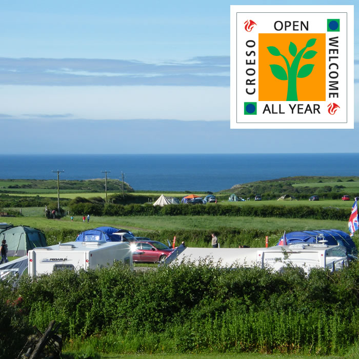 Campsite open all year