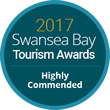 2017 Swansea Bay Tourism Awards : Highly Commended