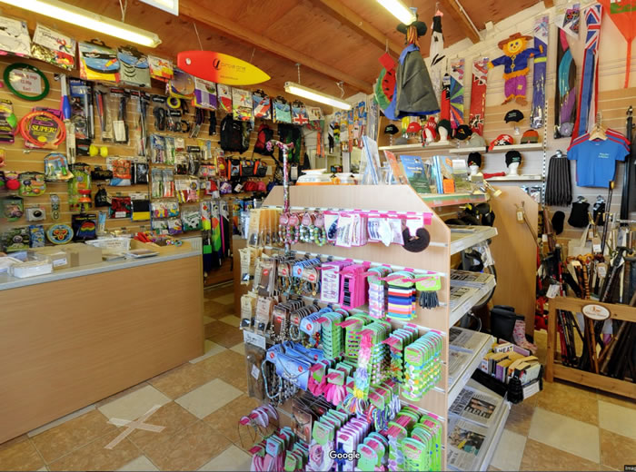 The Shop at Pitton Cross Caravan Park