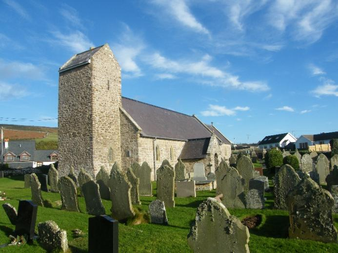 Rhossili Church Gower