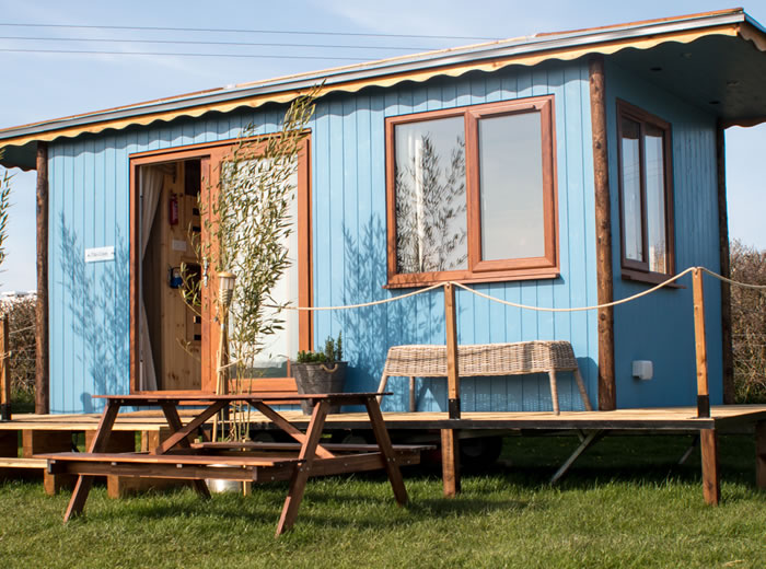 Shepherd Huts Gower