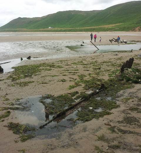 Gower Ship wreck swansea rhossili