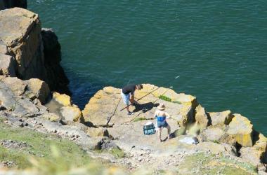 Gower Pitton Cross Rhossili Camping Coastal Fishing