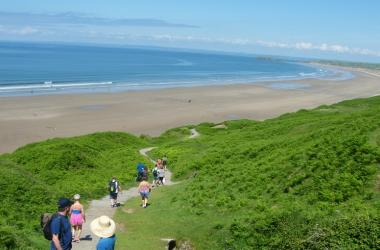 September break Rhossili Camping Open all Year