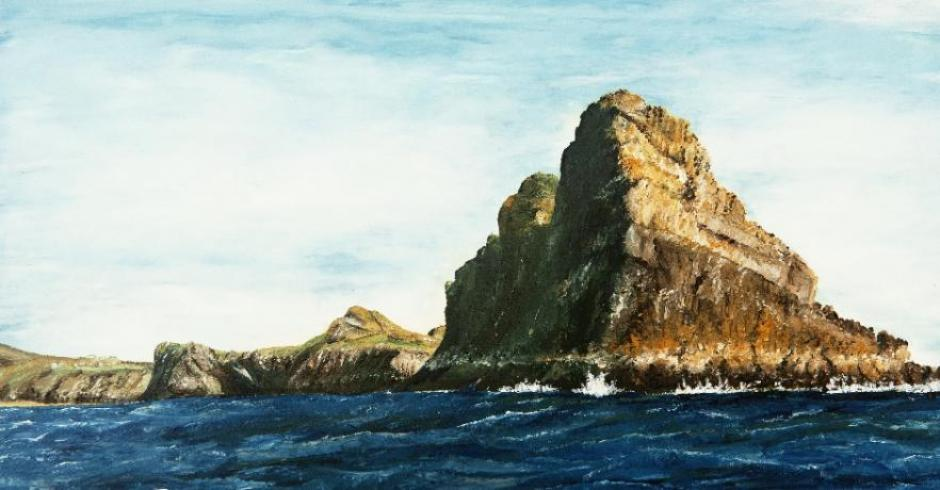 Wormshead Gower Painting