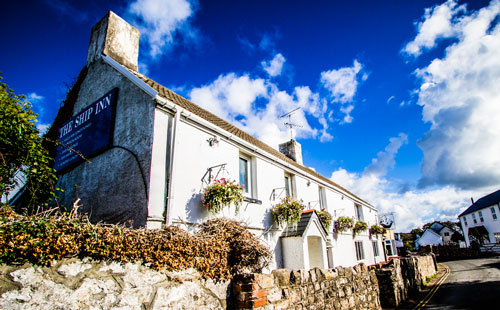 The Ship Inn Port Eynon Gower Dog Friendly