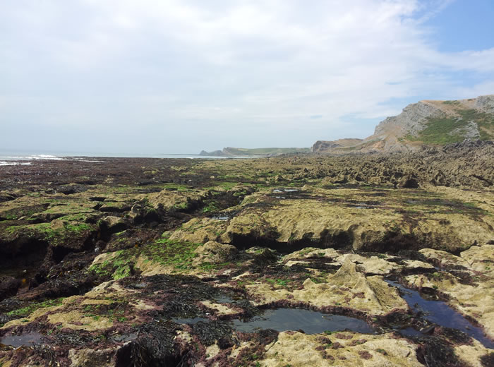 Low tide at Ramsgrove Beach Gower