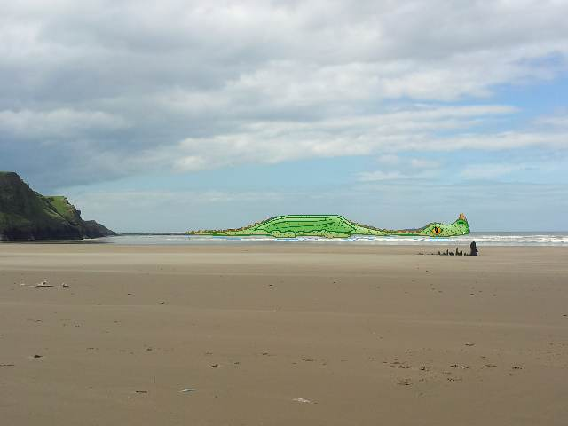 Worms head rhossili gower